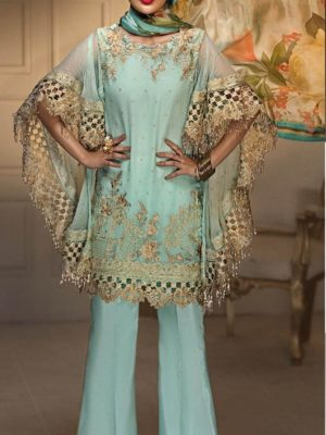 Anaya Luxury Embroidered Latest Chiffon Collection Replica