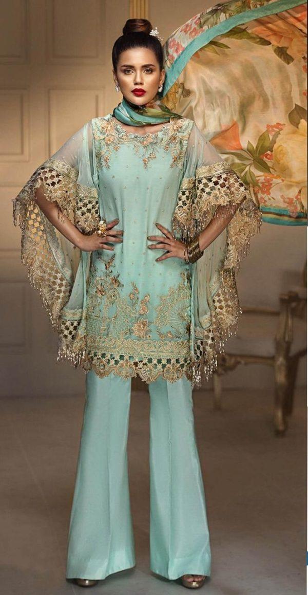 Anaya Luxury Embroidered Latest Chiffon Collection Replica