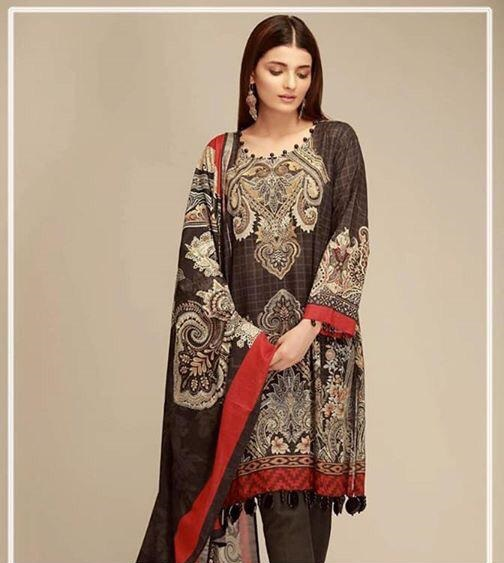 a6bf89dd53 Khaadi Luxury Embroidered Winter Khaddar Collection Replica ...