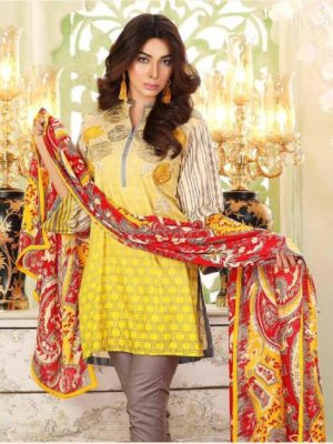 Charizma Latest Embroidered Linen Collection Replica