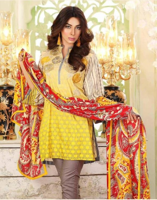 Charizma Latest Embroidered Linen Collection Replica