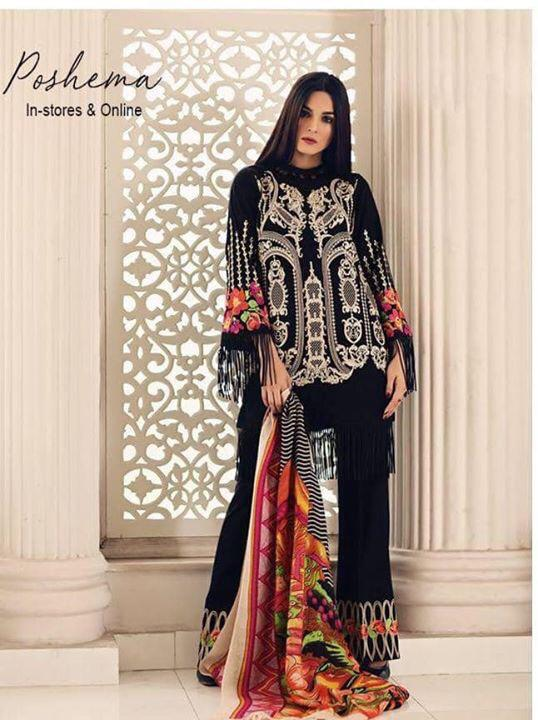 Charizma Latest Embroidered Winter Khaddar Collection Replica