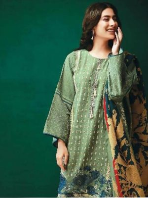 Khaadi Luxury Embroidered 2pc Marina Collection Replica 2018