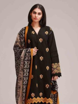 Khaadi Latest Embroidered Winter Marina 2PC Collection Replica