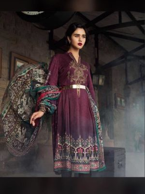 Maria B Luxury Embroidered Winter Khaadar Collection Replica