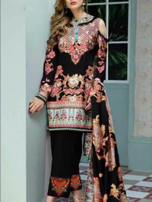 Zeen Luxury Embroidered Latest Viscose Collection Replica
