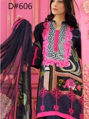 Chrizma Latest Embroidered Winter Khaddar Collection Replica 2019