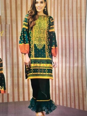 Keyseriya Latest Embroidered Khaddar Collection Replica
