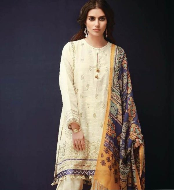 Khaadi Latest Embroidered Khaadar Collection Replica