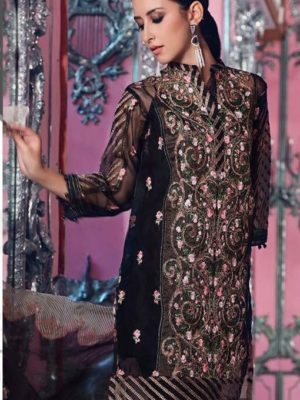 Agha Noor Latest Embroidered Organza Kurti Collection Replica