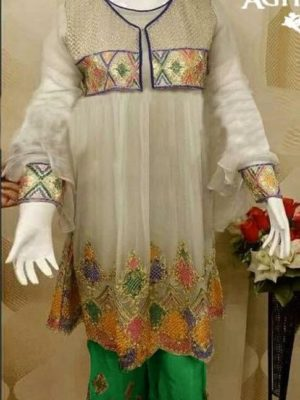 Agha noor Latest Embroidered Winter Linen Collection Replica