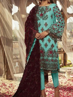Baroque Latest Embroidered Winter Linen CollectBaroque Latest Embroidered Winter Linen Collection Replica 2019n Replica 2019