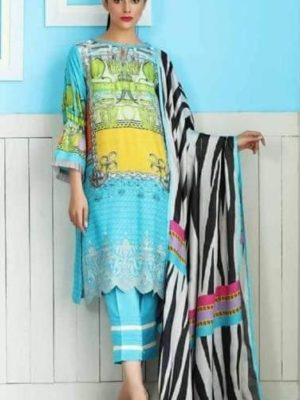 Chrizma Luxury Embroidered Winter Linen Collection Replica
