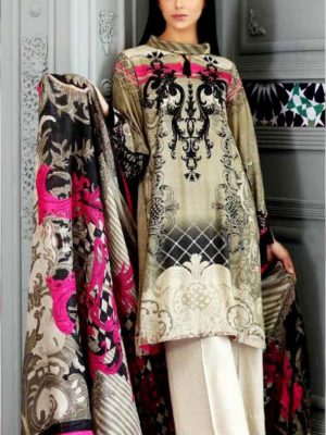 Chrizma Luxury Embroidered Winter Linen Collection Replica 2019