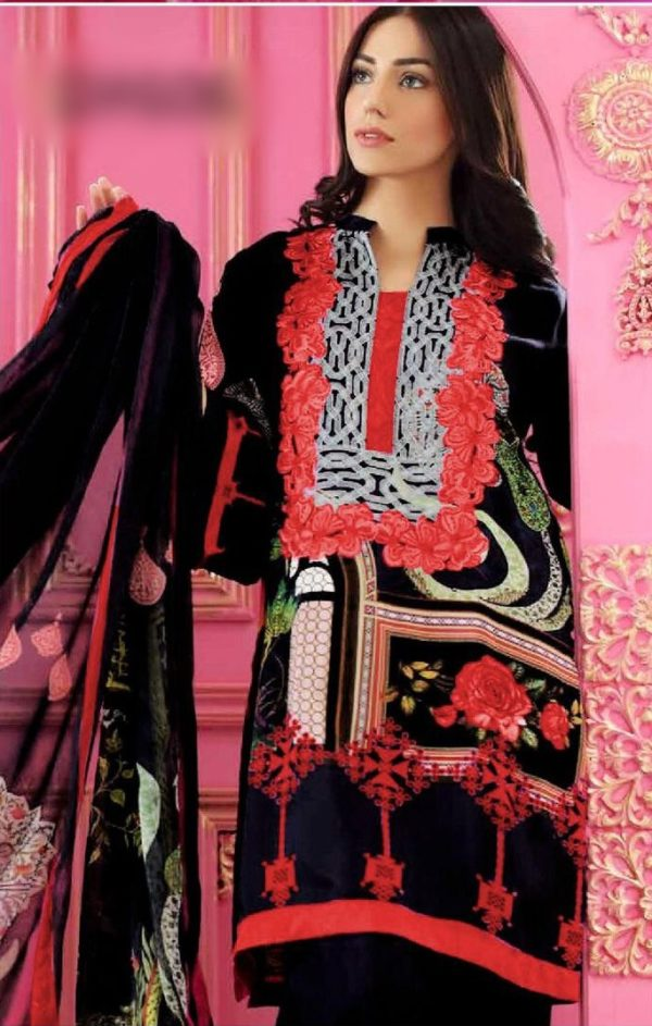Chrizma Luxury Embroidered Winter Khaddar Collection Replica 2019
