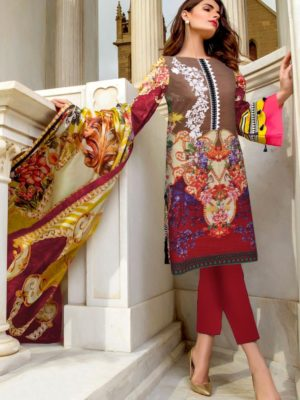 Firdous Luxury Embroidered Winter Khaddar Collection Replica