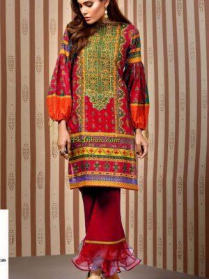 Keyseriya Luxury Embroidered Khaddar Collection Replica