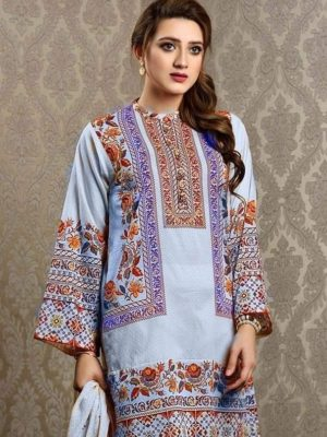 keyseriya Luxury Embroidered Winter Linen Collection Replica 2019