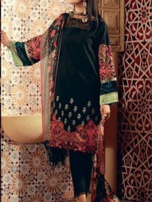 Khaadi Latest Embroidered Winter Linen Collection Replica 2019