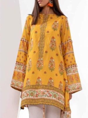 khaadi Latest Winter Linen Collection Replica 2019