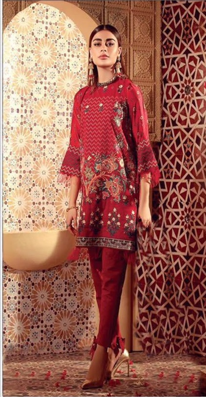 khaadi Luxury Embroidered Winter Linen Collection Replica
