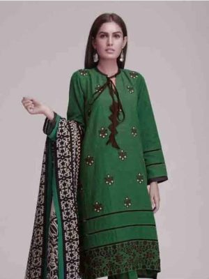 khaadi Luxury Embroidered 2pc Winter Marina Collection Replica