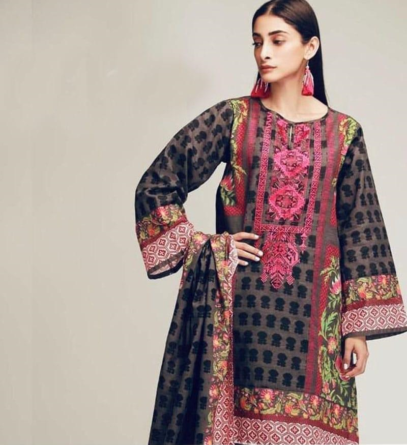 b389492220 Sale! 🔍. Khaadi Luxury Embroidered Winter Khaddar Collection Replica