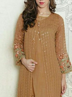 Maria b Luxury Embroidered Winter Linen Collection Replica