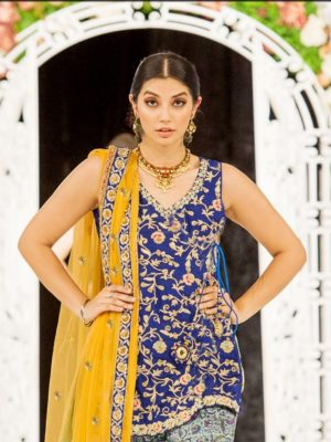 Maria B Luxury Embroidered Linen Collection Replica 2019
