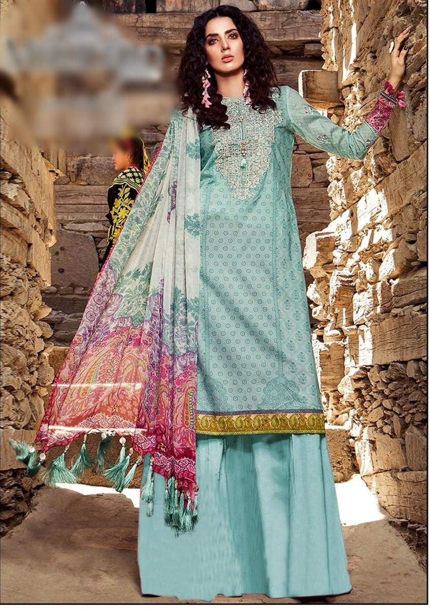 maria  latest embroidered winter linen collection replica