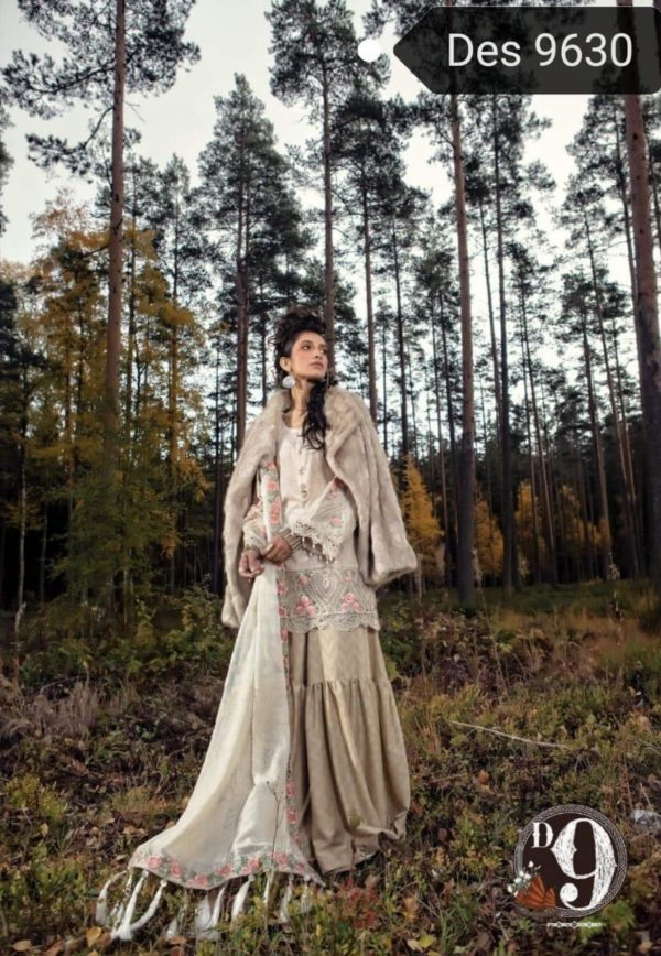 Maria B Luxury Embroidered Winter Khaddar Collection Replica