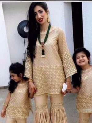 Maria B Latest Embroidered Kids Linen Collection Replica