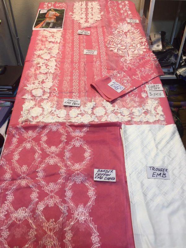 Nomi ansari Luxury Embroidered Winter Linen CollNomi ansari Luxury Embroidered Winter Linen Collection Replicaction Replica
