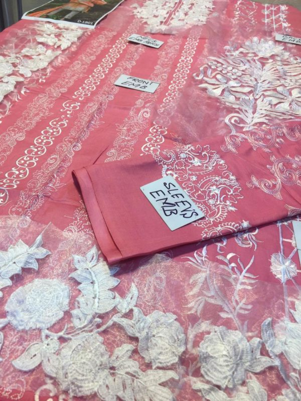 Nomi ansari Luxury Embroidered Winter Linen Collection Replica