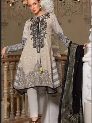 Orient Latest Embroidered Winter Linen Collection Replica