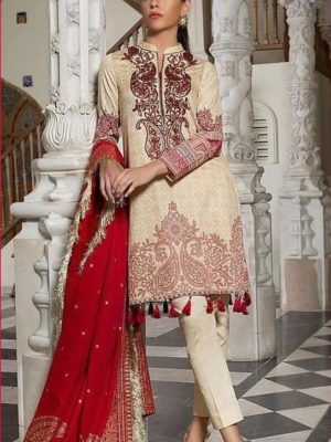 Orient Luxury Embroidered Winter Linen Collection Replica