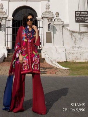Sana safina Latest Embroidered Winter Khaddar Collection Replica