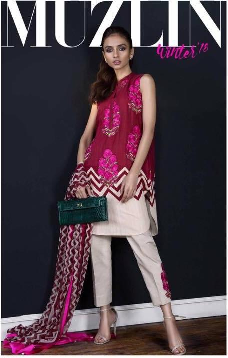 Sana safina Luxury Embroidered Winter Khaadar Collection Replica