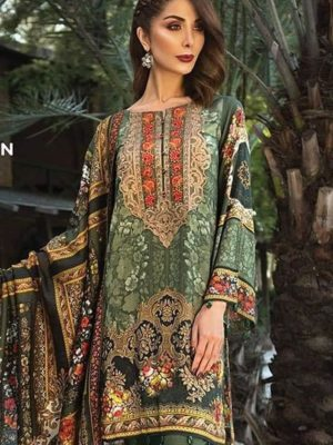 BAROQUE Latest Embroidered Winter Linen Collection Replica 2019