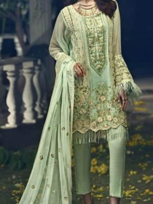 Ittehad Luxury Embroidered Chiffon Ittehad Luxury Embroidered Chiffon Collection Replica llection Replica