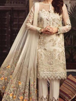 SERENE Luxury Embroidered Chiffon Collection Replica 2019