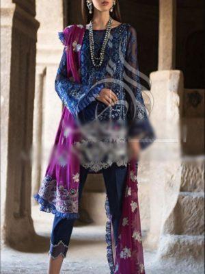 Zainab chottani Luxury Embroidered Chiffon CollectioZainab chottani Luxury Embroidered Chiffon Collection Replica 2019Replica 2019