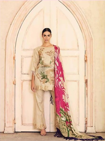Charizma Luxury Embroidered Winter Khaddar Collection Replica