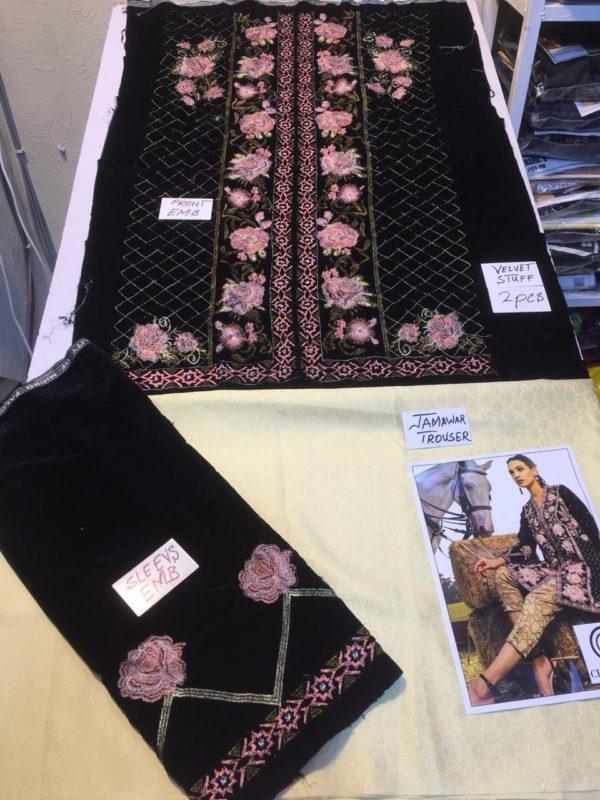 Charizma Latest Embroidered Winter Velve