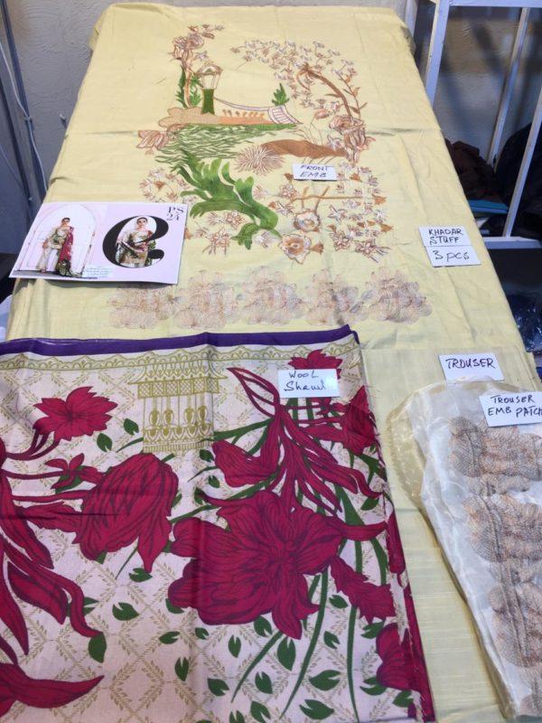 Charizma Luxury Embroidered Winter Khaddar CollectCharizma Luxury Embroidered Winter Khaddar Collection Replica ion Replica