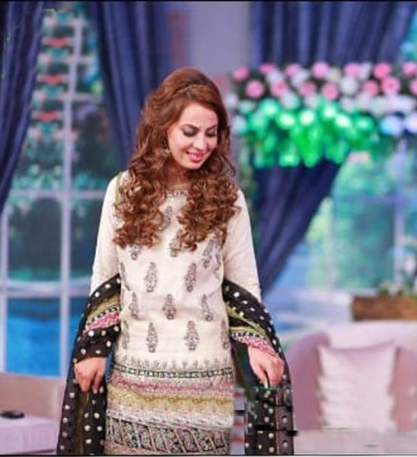 Farah saeed Luxury Embroidered Linen Collection Replica