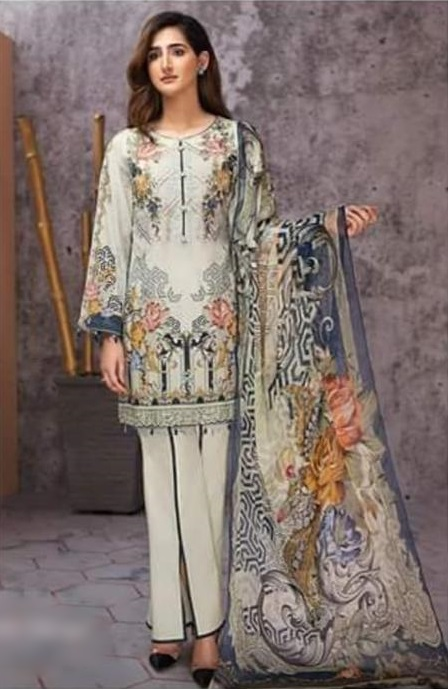 Jazmin Luxury Embroidered Winter Linen Collection Replica