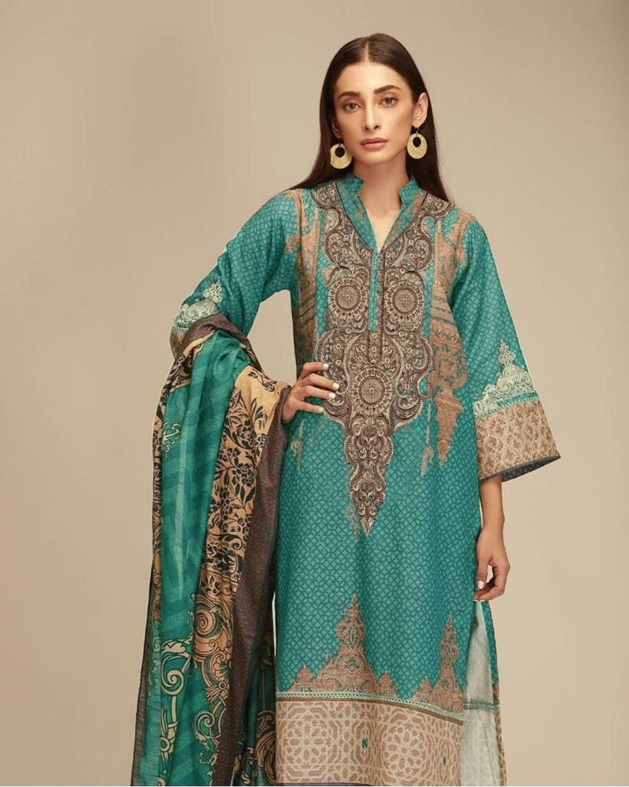 03a0ad5a39 khaadi Latest Embroidered Lawn Master Replica 2019