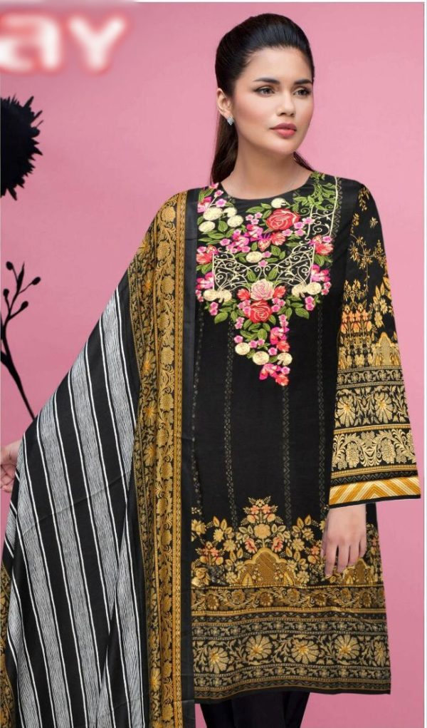 Nimsay Luxury Embroidered Winter Linen Collection Replica