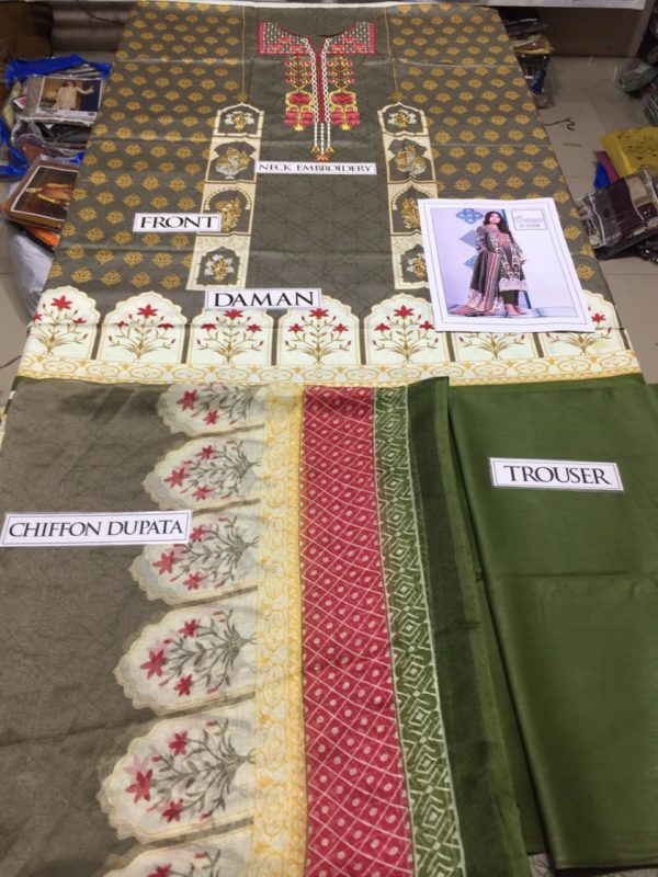 Orient Latest Embroidered Lawn Collection Replica 2019